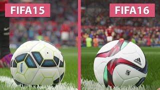 FIFA 15 vs. FIFA 16 Graphics Comparison captured on PS4