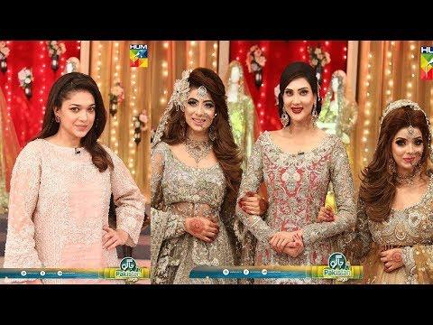 Xxx Mp4 Jago Pakistan Jago With Sanam Jung Mari Dulhan Lakhin Main Aik Competetion Today Show 19 July 2018 3gp Sex