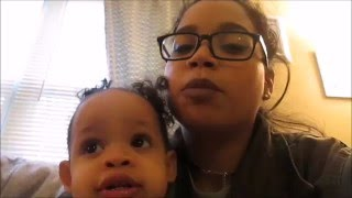 DAY IN THE LIFE - A Single Mom of Two in College !