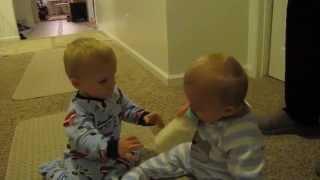 Twins Heart-breaking Bottle Snatch