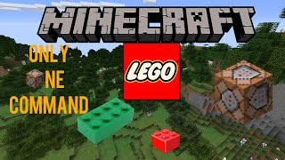 LEGO Only One Command 1.10 | Minecraft