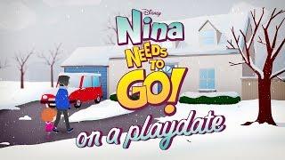 On A Playdate | Nina Needs to Go | Disney Junior