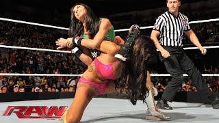 Natalya & Rosa Mendes vs. AJ Lee & Paige: Raw, Sept. 8, 2014