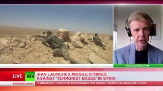 Iran fires missiles against