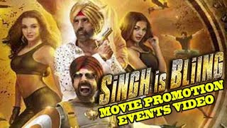 Singh Is Bling (2015) Promotion Events Full Video | Akshay Kumar | Amy