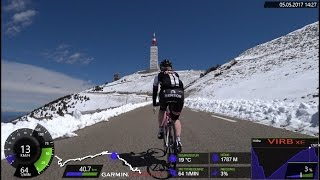 120 Minute Uphill Indoor Cycling Training Mont Ventoux France Full HD