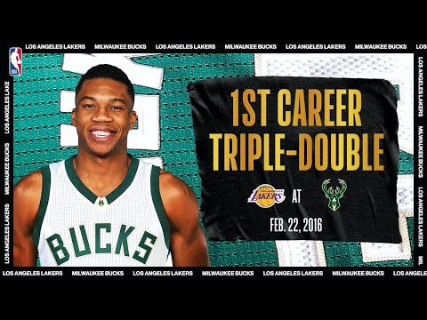 Giannis' 1st Career Triple Double NBATogetherLive Classic Game