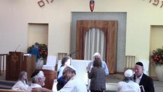 Rosh Hashanah Second Day Shofar Service