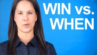 How to Say WIN vs WHEN - American English Pronunciation