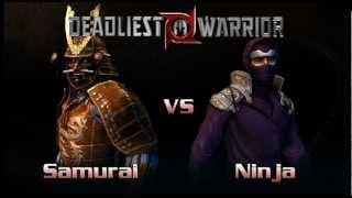 DEADLIEST WARRIOR local battles # samurai VS Ninja