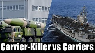 U.S. Navy Aircraft Carriers vs. China