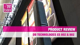 Musikmesse 2015 - DB Technologies ES 602 & 802