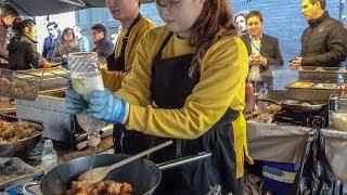 """Korean Rice Bowl """"bibimbap"""" Tasted in Soho, London. Street Food"""