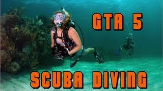 GTA V (5) - Where to find the Scuba Diving Gear