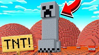 HOW MUCH TNT DOES IT TAKE TO BLOW UP A CREEPER?