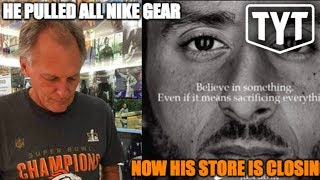 Store Owner Boycotts Kaepernick, Loses His Business.