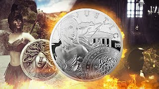 Silver Athena - Latest 'Modern Ancients' Bullion From GoldSilver.com
