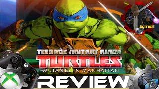 Teenage Mutant Ninja Turtles Mutants in Manhattan Review