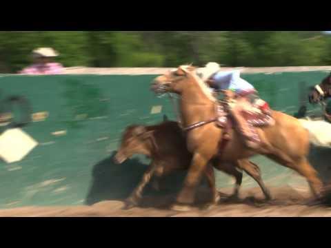 COLEADERO EN EL LIENZO CHARRO EL ZACATECANO EN MINNESOTA COLEADERO 5 28 2011.mp4