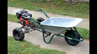 Homemade 200cc WHEELBARROW  !?  PART 1