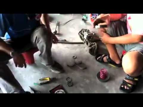 Mio drag bike Engine Tuning by Hispeed