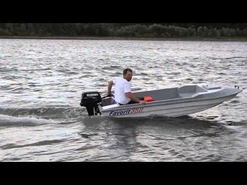 пластиковая лодка лакер 350 видео