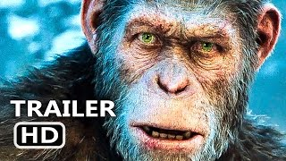 WАR FOR THE PLАNET OF THE АPES Official Trailer # 3 (2017) Action Blockbuster Movie HD