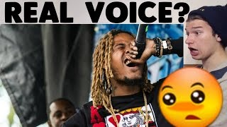 Fetty Wap's REAL VOICE (WITHOUT AUTO-TUNE) REACTION!