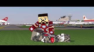 Minecraft Capitan America Civil War Trailer 2 en animacion Español Latino