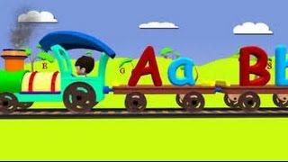 ABCD Alphabet Train song | 3D Animation Alphabet ABC Train Songs for children | HD