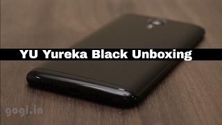 YU Yureka Black Unboxing and First Impression - हिंदी में