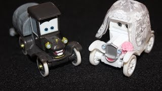 Mattel Disney Cars Wedding Day Stanley & Lizzie Time Travel Mater (Cars Toon Short) Die-casts