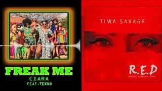 Ciara New Song 'Freak Me' Samples Tiwa Savage's Song 'Before Nko'