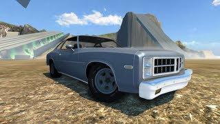 BeamNG Drive 1977 Bruckell MoonHawk Crash Testing #23