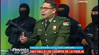 La Policía explica la operación para recuperar los cuerpos de Jesús y Karla