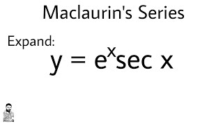 10.  MACLAURIN'S THEOREM | PROBLEM #2 | DIFFERENTIAL CALCULUS