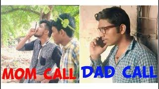 mom call vs dad call || funny video || gustakhi maaf