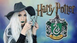 HARRY POTTER 💚 Slytherin Cadısı Hogwarts Makyajı | Sebile Ölmez