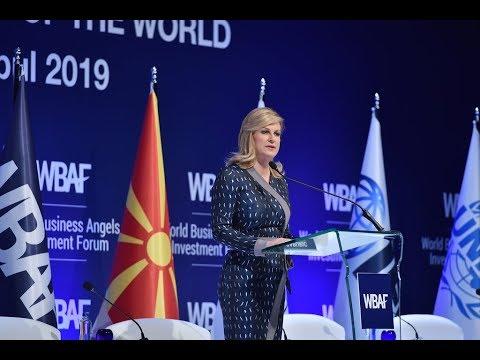 Xxx Mp4 WBAF 2019 Address Of The President Of Croatia H E Kolinda Grabar Kitaroviç 3gp Sex