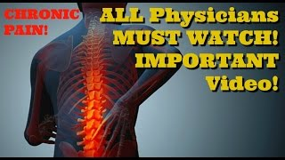 CHRONIC PAIN!  Physical Therapists, Doctors, Chiropractors MUST Watch!