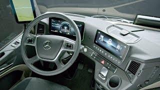 2019 Mercedes-Benz Actros Interior