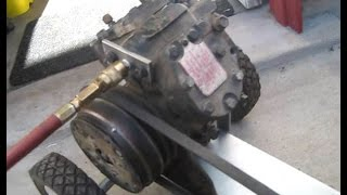 Homemade Gas Powered Air Compressor