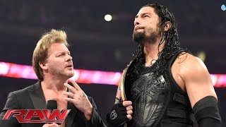 Roman Reigns wants payback against Brock Lesnar: Raw, January 18, 2016