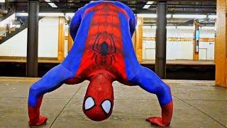 Amazing Spider-Man: Break Dance!   Flips, Spins & Tricks!