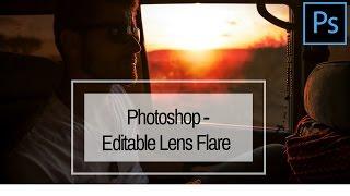 Create an Editable Lens Flare in Photoshop