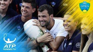 Dimitrov defeats Kyrgios to win first Masters 1000 title   Cincinnati 2017 Final Highlights