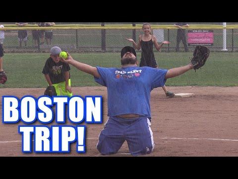 WE WENT TO BOSTON On Season Softball Series