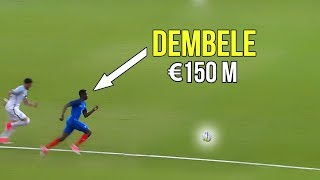The match that made Barcelona buy Ousmane Dembélé because of his crazy skills & goals | €150 million