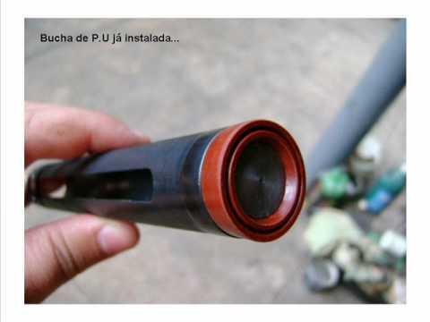 Montagem de mola pneumática na CBC Montenegro gasram
