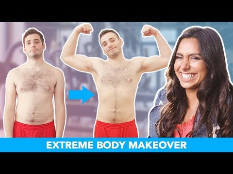 I Gave My Boyfriend An Extreme Body Makeover
